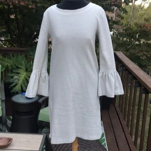 Off white J Crew Factory Dress new condition xs